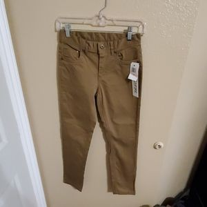 Ring of Fire Boys Khaki Jeans size 10 NWT
